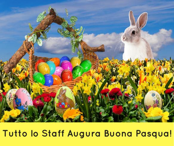 Tutto lo Staff Augura Buona Pasqua